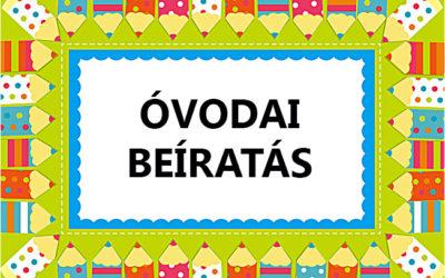 Tájékoztató a 2018-2019-es nevelési évre vonatkozó óvodai beíratásról