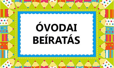 Óvodai beiratkozás tájékoztató levél