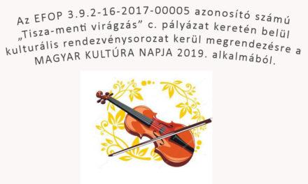 Magyar Kultúra Napja 2019.