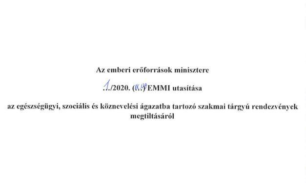 Miniszteri utasítás